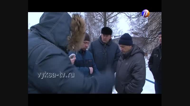 Выкса-МЕДИА: объезд главы, встреча с жителями Гоголя, 42