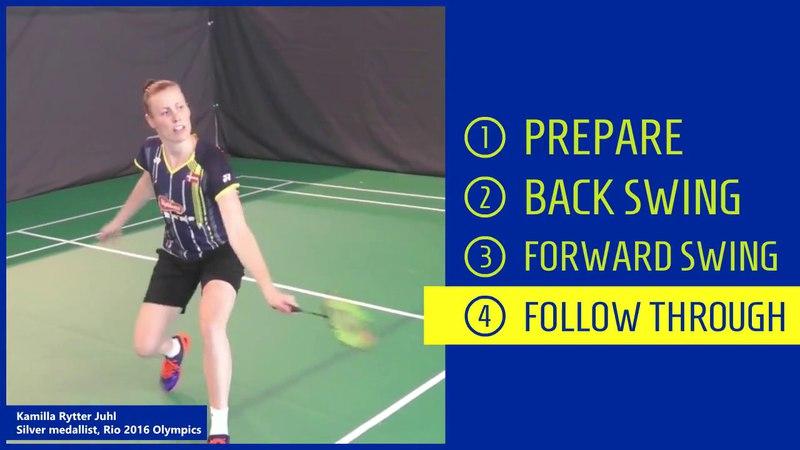 2. Backhand cross-court net shot
