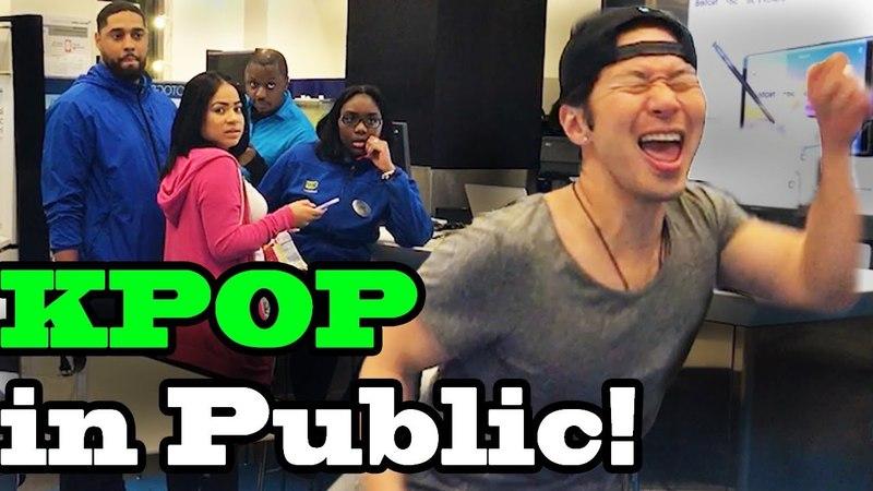DANCING KPOP IN PUBLIC - Best of (BTS, EXO, Blackpink, BigBang, Twice and more)