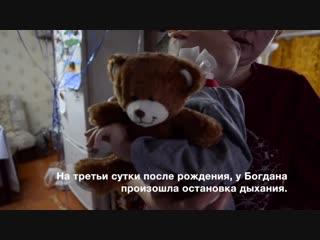 В гостях у Богдана и его медвежонка!