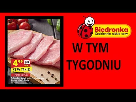 Nowa Gazetka Biedronka od 17.05.2018 | W Tym Tygodniu