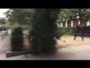 Hetzjagden in Chemnitz Vermummte und bewaffnete Linksextremisten attackieren friedliche AfD Demo