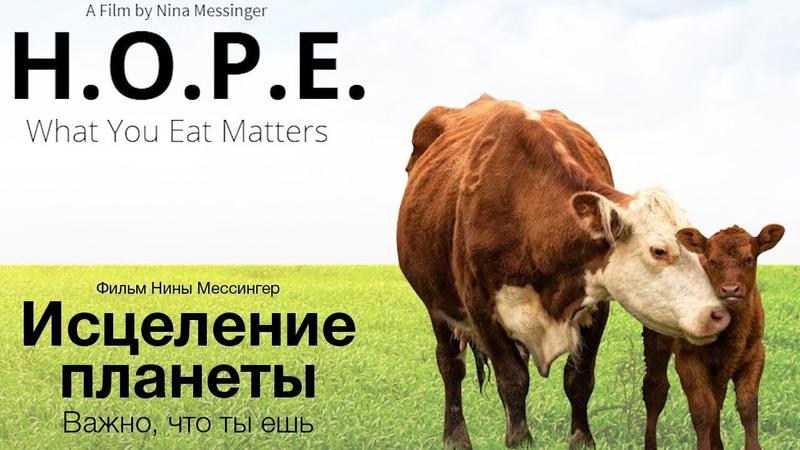 Исцеление планеты Важно, что ты ешь (фильм H.O.P.E. What You Eat Matters на русском)