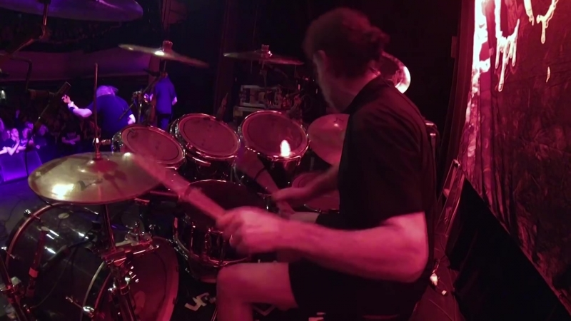 CANNIBAL CORPSE - Hammer Smashed Face (Drum playthrough by Paul Mazurkiewicz) (vk.comafonya_drug)