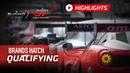 Qualifying Highlights - Brands Hatch - Blancpain GT World Challenge Europe 2019