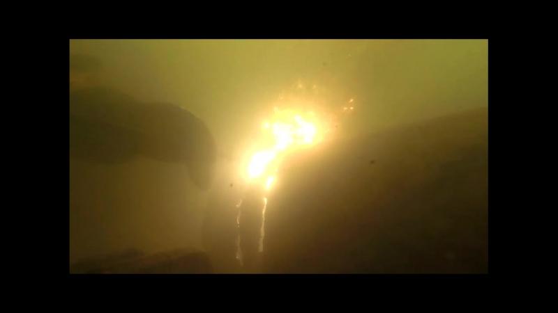 резка металла под водой экзотермической резкой