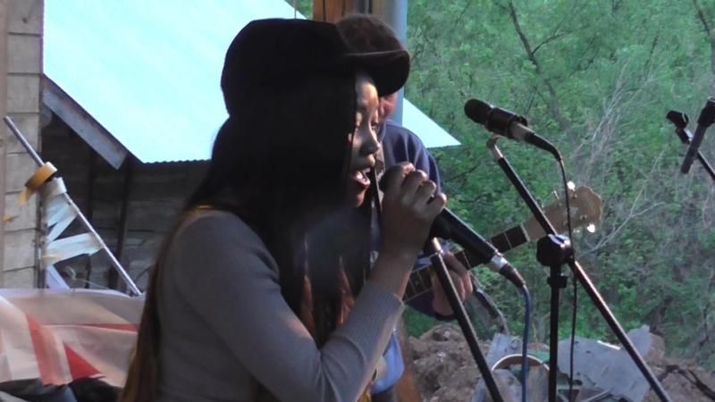 Нафуэ Мина Матиас и Саша Африканец. Сакура Фест. 27.05.18. Джамбо.
