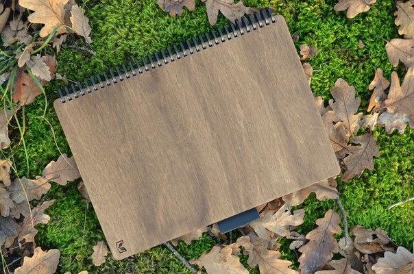 мастерская Добро-Book - делаем многоразовые ежедневники, тетради, альбомы и блокноты с деревянными обложками ручной работы.