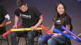 Pink Panther, Ghostbusters, and Wavin' Flag on Boomwhackers!