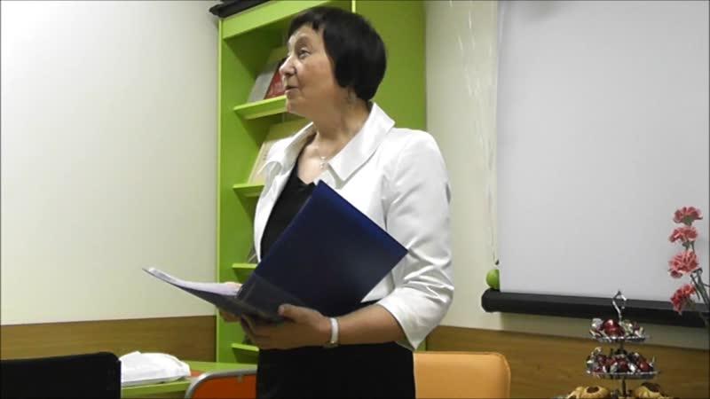 поэтесса Лидия Мельникова (г. Санкт-Петербург) с авторскими стихами и творческими подарками в честь 3-летия проекта