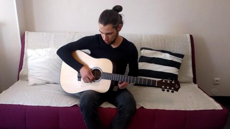 1. Уроки гитары. Виды техник звукоизвлечения. Одиночные щипки.