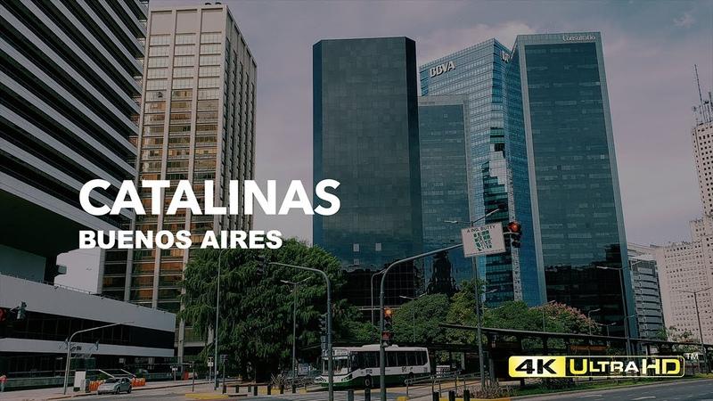 4k | Walking in Buenos Aires | Desde el CCK hasta Catalinas pasando por el estadio Luna Park