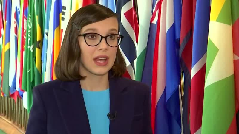 Netflix star Millie Bobby Brown named youngest-ever Unicef envoy