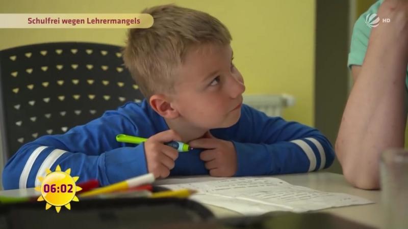 Kinder verblöden wenn nichts passiert Krasser Lehrermangel SAT 1 Frühstücksfernsehen TV