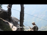 Yudh Abhyas 18- Training Day 4 Mountain Rappelling CHAUBATTIA MILITARY STATION, INDIA 20.09.2018