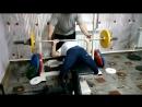 Лариса жмёт 55 кг пока на 5 !
