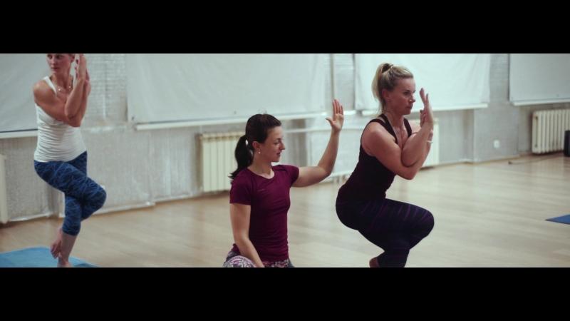 Прекрасное Видео с Олимпиады по Бикрам йоге