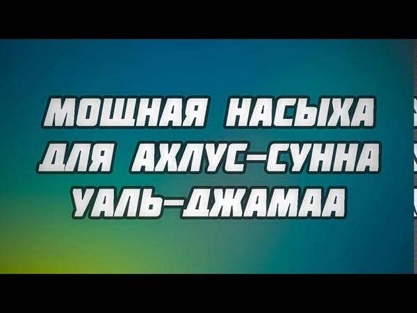 Мощная насыха для ахлус-сунна уаль-джамаа    Абу Яхья Крымский