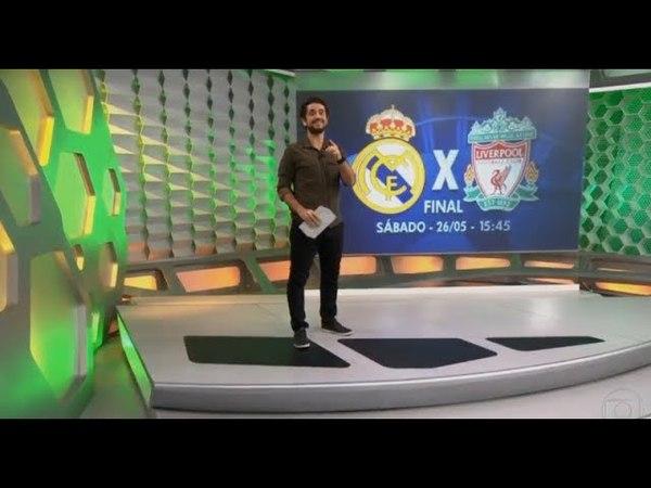 Esporte Espetacular | Tudo sobre a final da Champions Real Madrid x Liverpool