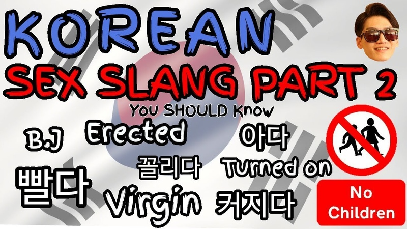 KOREAN SEX SLANG PART 2 You Should Know from K-Show