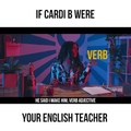 Lilly Singh on Instagram If I walked into an english class and @iamcardib was my teacher, best believe Id have perfect attendance. Not to mentio...