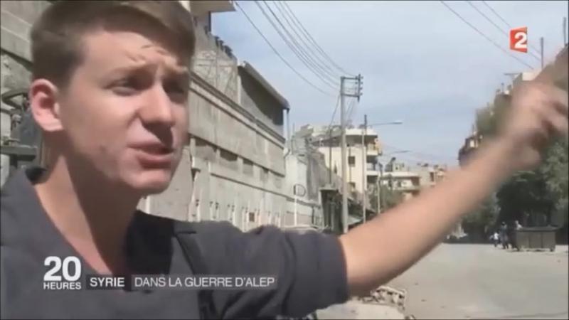 Syrie, Pierre Lecorf Situation à Alep différence entre propagande France 2 et réalité !