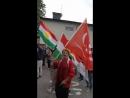 Курдская община в Европе протестует против нападения Ирана на базы курдской оппозиции и казни курдских политзаключенных