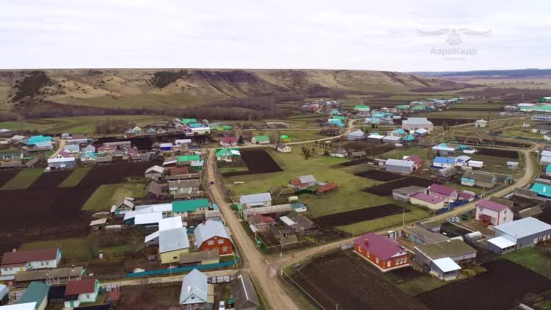 Аэросъемка. Чутай авылы, Балтач районы (09.11.2018)