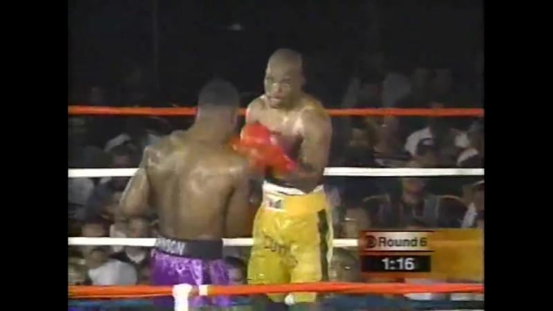 Бернард Хопкинс vs Глен Джонсон (Bernard Hopkins vs Glen Johnson) 20.07.1997