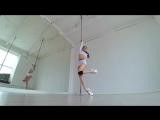Angelina Gelios - Exotic pole dance (Stardust)