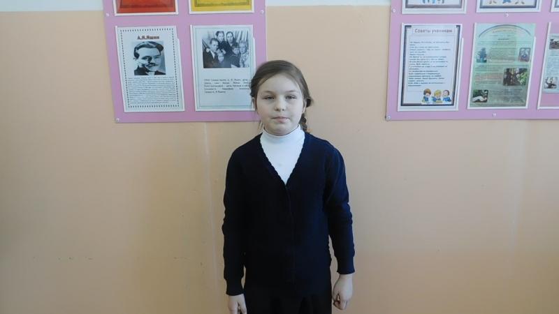 Участница акции Живая вода - Карачева Ирина, 9 лет, ученица СОШ №1 г. Никольска.