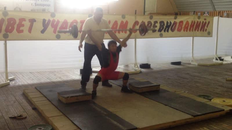 Алимгулов Линар 2000 гр. вес 53 кг рывок 35 кг