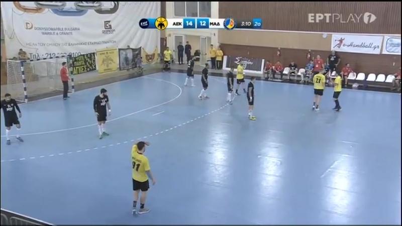 ΑΕΚ - Μαδέιρα 23-23 ● Semi-Final Challenge Cup ● 28_4_18