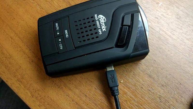 Ritmix RAD-505ST GPS не включается не прошивается