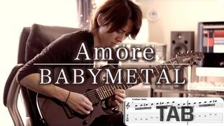 BABYMETAL - Amore Guitar Cover TAB movie JP7