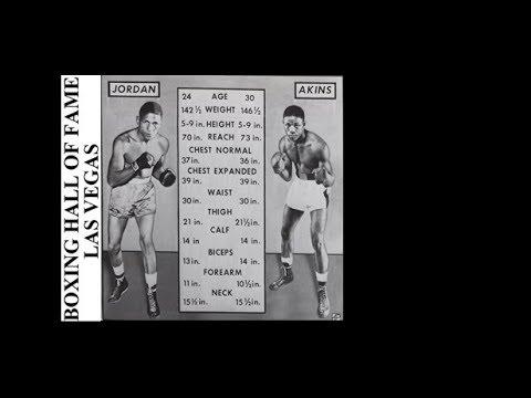 Don Jordan Beats Virgil Akins – Wins Welterweight Title December 5, 1958