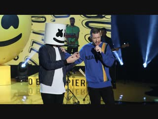 Marshmello & Bastille - Happier (Live on Ellen)