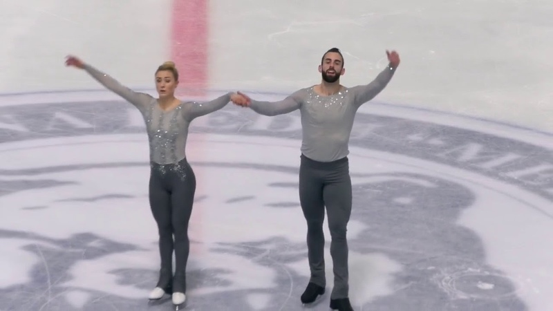 Ashley CAIN Timothy LEDUC USA Free Skate 2018 Golden Spin of Zagreb (AUDIO MUTED)