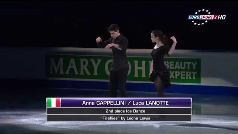 Anna CAPPELLINI Luca LANOTTE - European Figure Skating Championships 2015 Gala (EX)