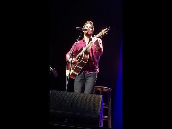 Darren Criss - Chat about Durham James Taylor songs - LMDC Durham - 30 June 2018