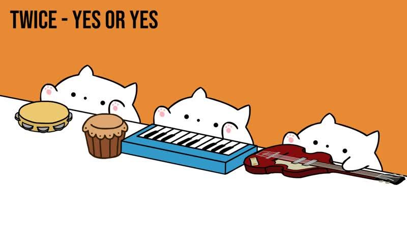 Bongo Cat - TWICE 'YES or YES'