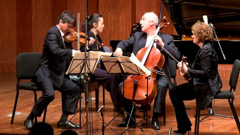 Beethoven Piano Quartet in E Flat Major; 2013 Shanghai Festival