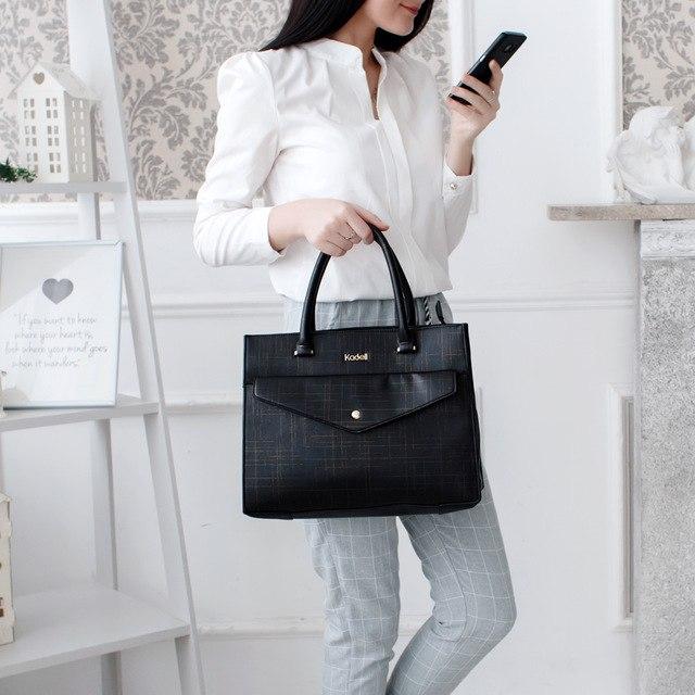 Удобная вместительная сумка для бизнес-леди