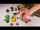 Овощная грядка Вершки и корешки