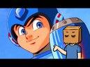 Mega Man Rockman Os vários desenhos