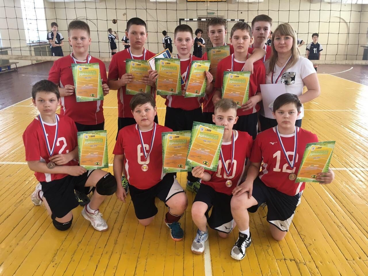 С 3 по 7 апреля 2019 года в Челябинске прошло первенство УРФО по волейболу среди команд юношей 2007-2008 г.