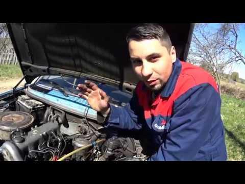 Мерседес 123 Как установить ТНВД BOSCH . Двигатель ОМ616 Дизель выставляем метки и угол.