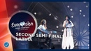 Carousel That Night Latvia LIVE Second Semi Final Eurovision 2019