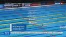 Новости на Россия 24 Юлия Ефимова третья на стометровке брассом