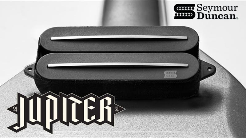 Новый рельсовый датчик от Seymour Duncan: Jupiter | Wes Hauch Signature Rails Humbucker